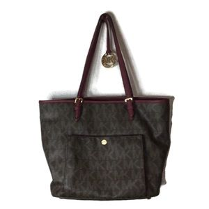Michael Kors leather signature Tote Bag